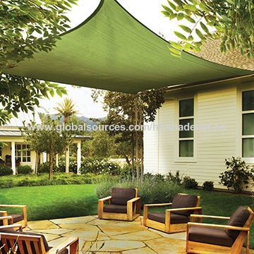 China Sun Shade Sail Uv Top Outdoor Canopy Patio Lawn