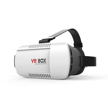 Cheap Wholesale Head-mounted 3D VR Glasses, DIY Play Video Movie Game