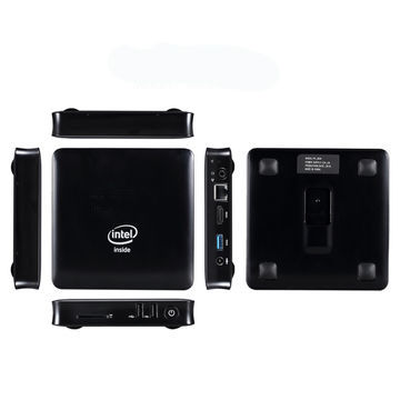 China Mini PC with 4GB RAM, Windows 10 OS, 2.4G 5G Dual-band WIFI Supported