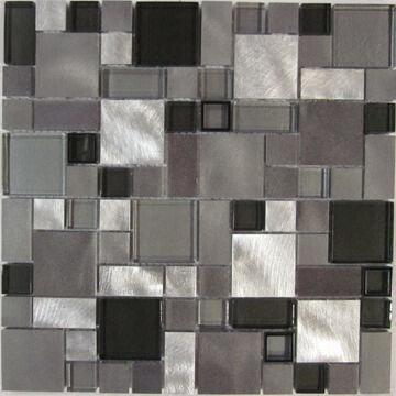 Tiling restroom in mosaic design