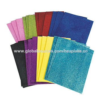 Craft glitter EVA foam sheet