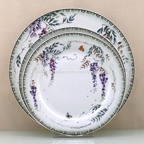 Ceramic Dinnerware Set Round Shape