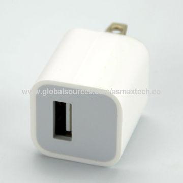 f63fc0c5610 ... China Cargador 100% del enchufe USB para el iPhone, adaptador de carga  del cubo ...