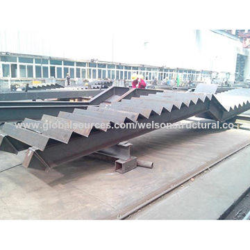 Prefabricated Structural Steel Staircase China Prefabricated Structural Steel  Staircase