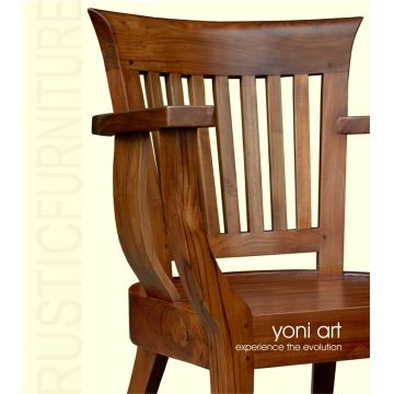 Indonesia Teak Wood Dining Chair