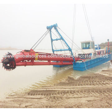 Mini sand suction dredger bucket dredger for sale | Global Sources