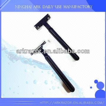 china plastic handle single blade disposable razors for sale