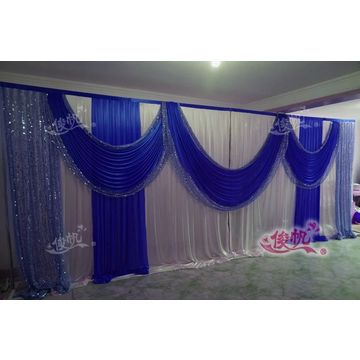 best photo silver wedding foil curtains shop tinsel backdrop the on fringe savings decor find for party qiilu metallic