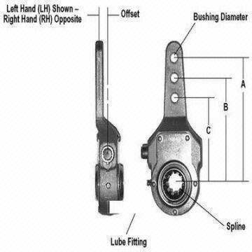 manual slack adjuster, automatic slack adjuster | Global Sources