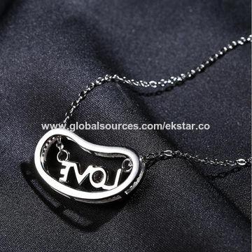 2017 New Love Design Women's 925 Sterling Silver Pendant Necklace
