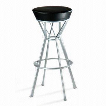 Fabulous Non Foldable Bar Stool Made Of Pvc Leather And Steel Pipes Caraccident5 Cool Chair Designs And Ideas Caraccident5Info