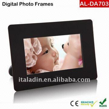 Mini Digital Photo Frame 17 Inch Digital Photo Frame 2battery