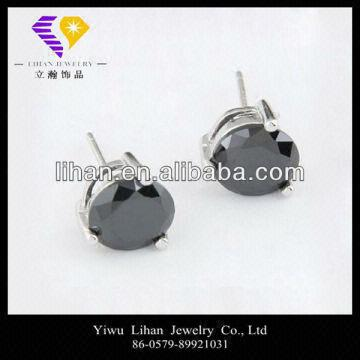 5817863fb Wholesale Colored CZ 925 Sterling Silver Stud Earring   Global Sources