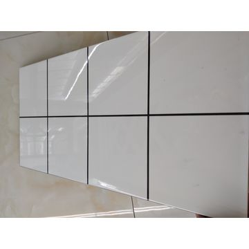 China White And Black Ceramic Wall Tile From Linyi Trading Company - 12x24 glossy white tile