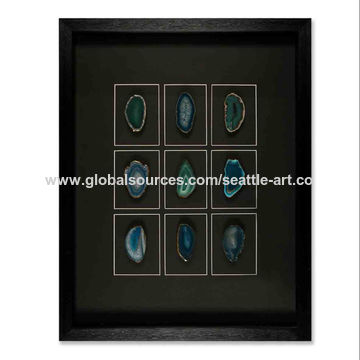 framed metal wall art.htm china green agate wall art from xiamen trading company seattle  china green agate wall art from xiamen
