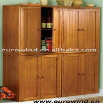 High Quality 2 Doors Solid Wood Pantry Cabinet Global Sources