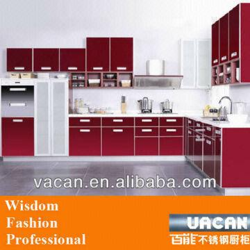 China High Gloss Lacquer Finish Italian Kitchen Cabinet Parts