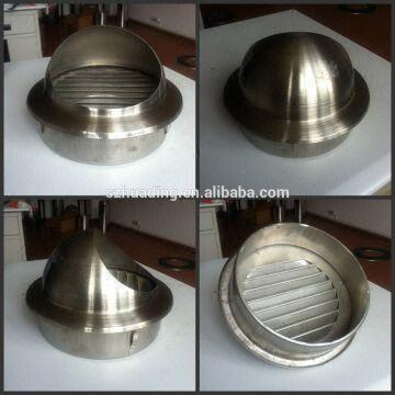 Ce Stainless Steel Chimney Rain Cap Gas Fireplace Chimney Pipe
