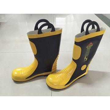 0e3b60c6643 EN standard rubber fireman boots with steel toe | Global Sources