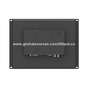 "15"" LED Industrial Touch Monitor, Open Frame Design for Optional"