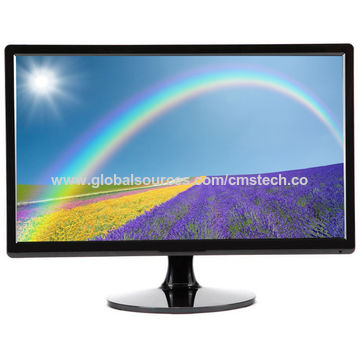 19 Inch LED Monitor Wide Screen VGA DVI Speakers HDMI Is Optional With 1440900p At 60Hz