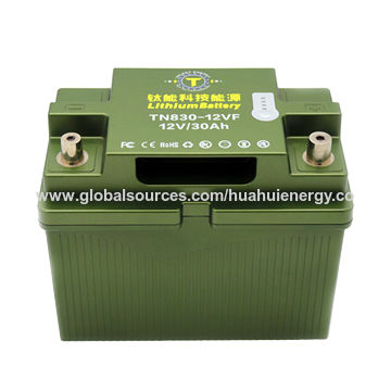 Lithium Car Battery >> China 12v 30ah 1000cca Lithium Iron Phosphate Car Battery On Global