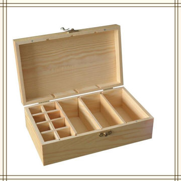 ... China Wood Box Storage Boxes Essential Oil Bottle Wooden Box ...