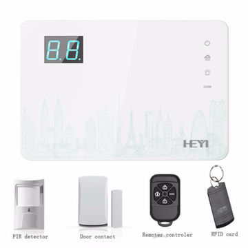 Chinawireless Home Security Gsm Alarm System App Control Gsm Burglar Alarm System With Rfid Card On Global Sources