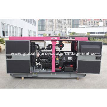 7 5kVA Small Power Diesel Generating Set, Denyo Type