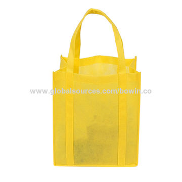 China Excellent quality hot selling plain tote non woven bags ... 6fda18d249291