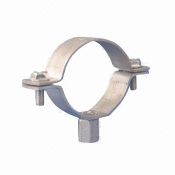 china pipe clamp made of steel stainless thickness is of 225mm