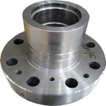 metal machining cnc large steel machining and turning part made of aluminum metal