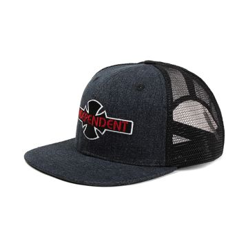 93cd1743a43 ... China Vintage 3D embroidery Washed Denim Trucker Hat Adj