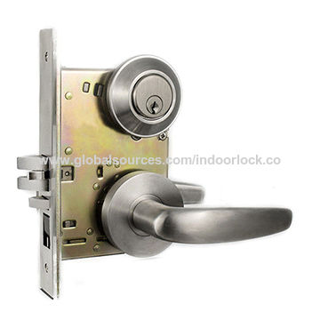China Heavy Duty Mortise Locks, Gate Locks Stainless Steel Door Latches  Mortise Cylinder ...