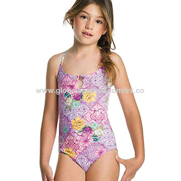 4f9b0869c China Floral Print One Piece Swimsuits from Quanzhou Manufacturer ...