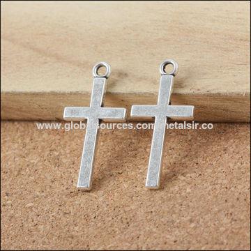 China Cheap cross DIY pendants, manufacture jewelry pendant