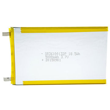 China Battery pack Li-polymer batteries, rechargeable 3.7V/5000mAh tablet PC 36100132