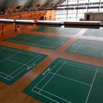 Indoor Outdoor Badminton Court PVC Vinyl Flooring, 1.42m/1.5m/1.8m ...