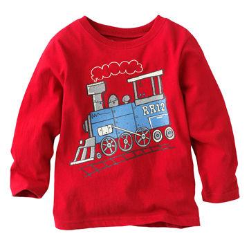 3cf476a2 ... China Fashionable/New Design 100% Cotton Kids'/Boys' Cartoon T- ...