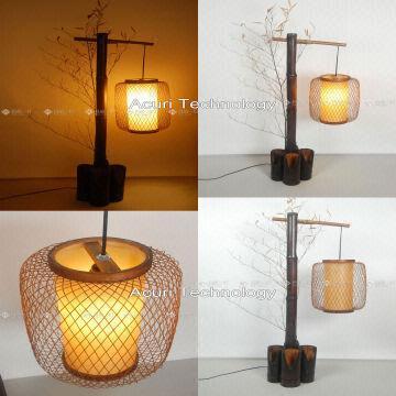 Taiwan Japanes/Chinese Style Floor Lamp, Night Light, Bamboo Lamp