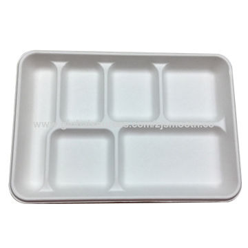 China Bagasse Tray sugar cane pulp biodegradble disposable tray 6 compartment ...  sc 1 st  Ningbo Smooth Trade Developing Co.ltd - Global Sources & China Bagasse Tray from Ningbo Trading Company: Ningbo Smooth Trade ...