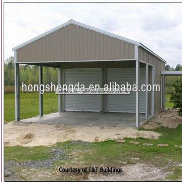 sell steel structure metal garage ,metal carports,metal cover made ...