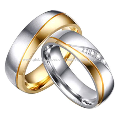 5b02584a7cc42 Stainless Steel Couple Rings