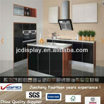... China High Gloss Lacquer Finish Kitchen Cabinets Design