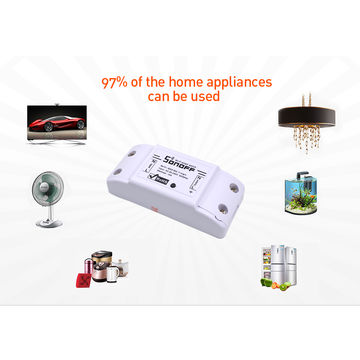 Sonoff Basic Wireless Wifi Switch For Smart Home Automation