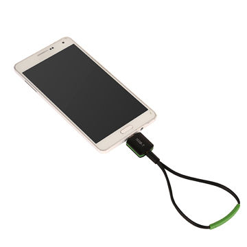 HD ISDB-T micro USB pad TV tuner, on Android phone and