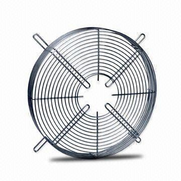 Fan Guard with Powder Coating or Zinc Plating, Made of High-quality