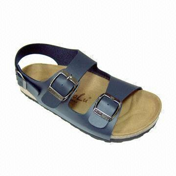 afdab8bc5 Taiwan Women's Flat Casual Sandals with Rubber Foam Outsole and Genuine  Leather Insole Injection Footbed