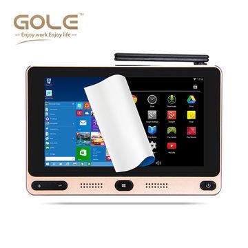 China 5-inch Android Intel Mini PC, Quad Core, Windows 10 Dual OS, CPU 4+32GB