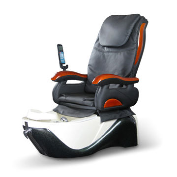 pedicure spa massage chair with manual and auto modes lcd remote